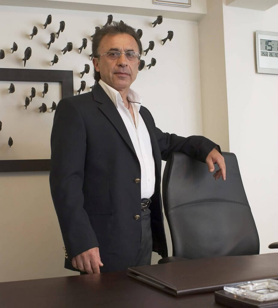 Sr. George Gerasimidis, fundador & C.E.O. de Fantasy Travel