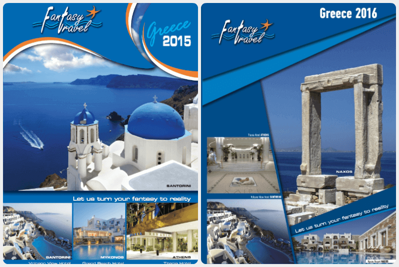 Fantasy Travel brochures 2015 & 2016
