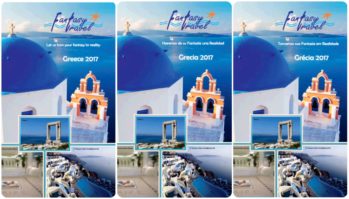 Fantasy Travel Brochure 2017