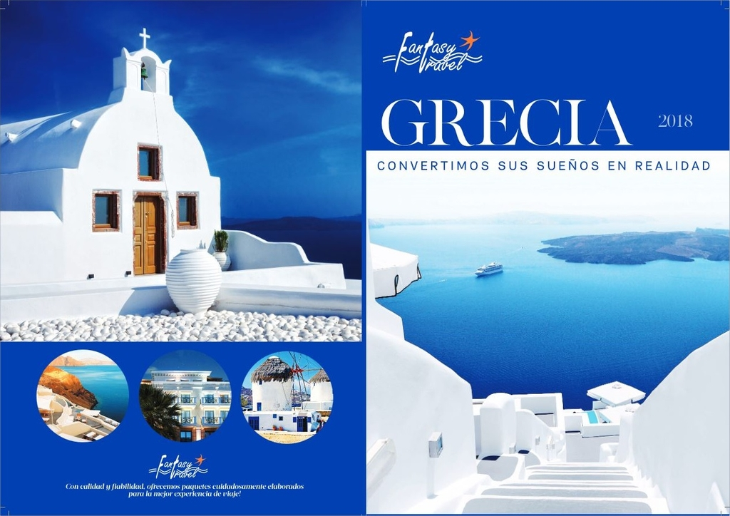 Fantasy Travel Brochure 2018 in Spanish